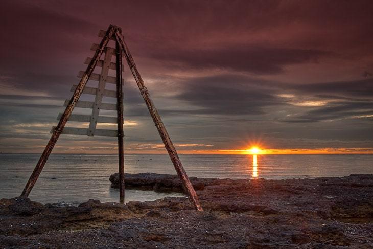 Melbourne-Daily-Photo-Blog-Bay-Beaumaris-birds-Point-Reef-Rickett-Rock-Sunset-Watkins-Beaumaris_20120724_064_5_6-2